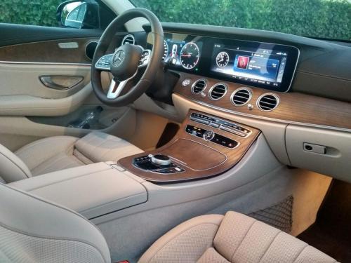Mercedes E-Class - bőr belső