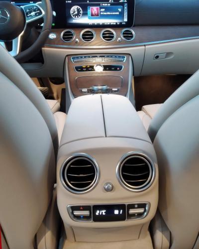 Mercedes E-Class - hátsó klíma