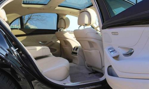 Mercedes S-Class - tetőablak