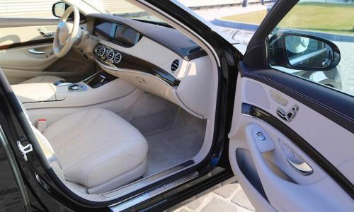 Mercedes S-Class - full bőr